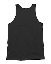 let me know if my biceps get in your way All-over Unisex Tank back
