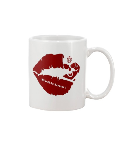 Johnny Evil - Evilicious - Red Lips - Mug