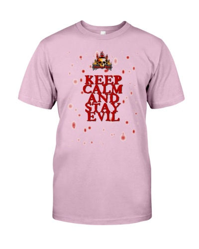 Johnny Evil - Keep Calm And Stay Evil - Shirt