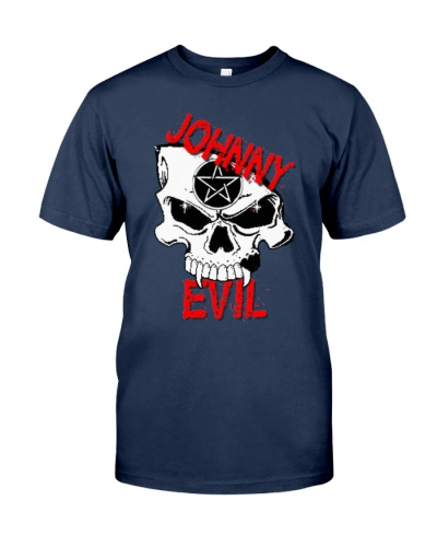 Johnny Evil - Evil Skull - T-Shirt
