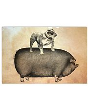 English Bulldog 17x11 Poster front