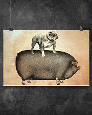 English Bulldog 17x11 Poster poster-landscape-17x11-lifestyle-12