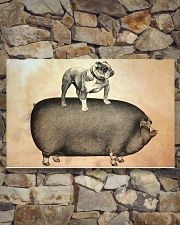 English Bulldog 17x11 Poster poster-landscape-17x11-lifestyle-16