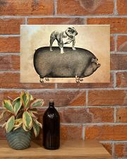 English Bulldog 17x11 Poster poster-landscape-17x11-lifestyle-23