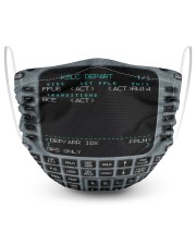 Flight Management 2 Layer Face Mask - Single front