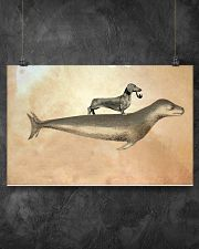 Dachshund 03 17x11 Poster poster-landscape-17x11-lifestyle-12