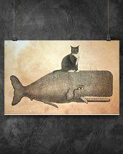 Tuxedo Cat 17x11 Poster poster-landscape-17x11-lifestyle-12