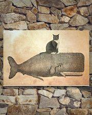 Tuxedo Cat 17x11 Poster poster-landscape-17x11-lifestyle-16