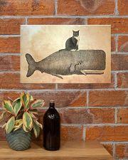 Tuxedo Cat 17x11 Poster poster-landscape-17x11-lifestyle-23
