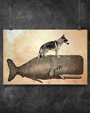German Shepherd 17x11 Poster poster-landscape-17x11-lifestyle-12