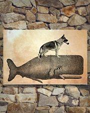German Shepherd 17x11 Poster poster-landscape-17x11-lifestyle-16