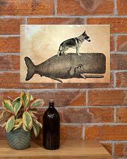 German Shepherd 17x11 Poster poster-landscape-17x11-lifestyle-23