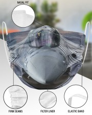 F-16 2 Layer Face Mask - Single aos-face-mask-2-layers-lifestyle-front-51