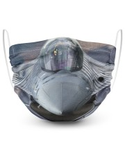 F-16 2 Layer Face Mask - Single front