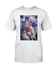 Camilla Wedding Armor Pinup White Classic T-Shirt tile