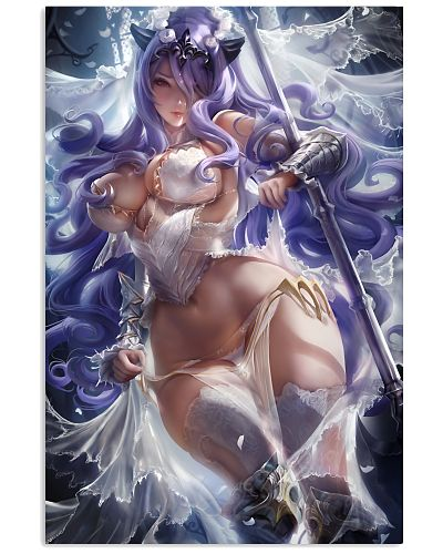 Camilla Wedding Armor Pinup White