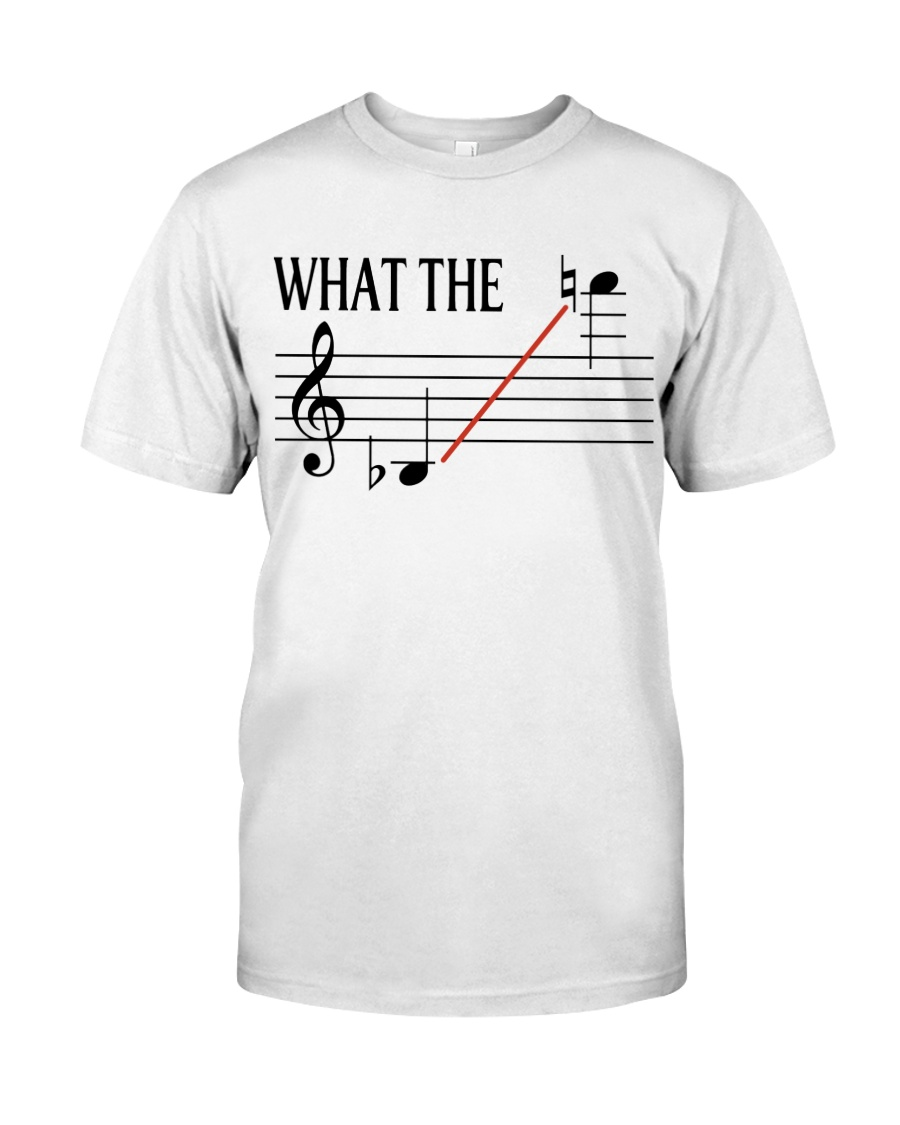 SAXOPHONE WHAT THE Classic T-Shirt
