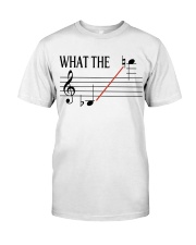 SAXOPHONE WHAT THE Classic T-Shirt front