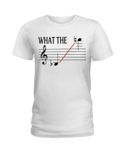 SAXOPHONE WHAT THE Ladies T-Shirt tile