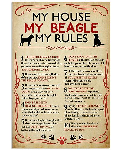My House My Beagle My Rules