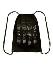 Great Beards Of Science  Drawstring Bag thumbnail