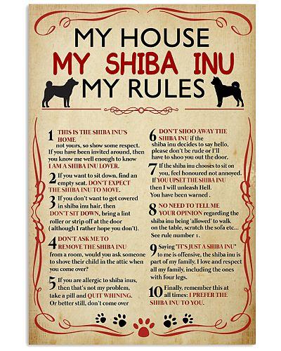 My House My Shiba Inu My Rules