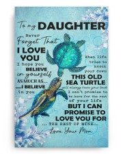 Never Forget That I Love You Mom To Daughter 20x30 Gallery Wrapped Canvas Prints aos-canvas-pgw-20x30-ghosted-front-02