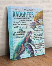 Today Is A Good Day HAve Great Day Dad To Daughter 11x14 Gallery Wrapped Canvas Prints aos-canvas-pgw-11x14-lifestyle-front-07