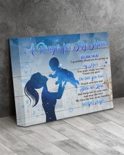 A Prayer For My Mom - Mom To Son 14x11 Gallery Wrapped Canvas Prints aos-canvas-pgw-14x11-lifestyle-front-08