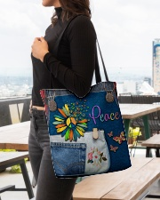 Hippie Peace All-over Tote aos-all-over-tote-lifestyle-front-04