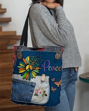Hippie Peace All-over Tote aos-all-over-tote-lifestyle-front-09