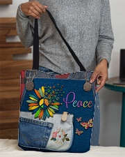 Hippie Peace All-over Tote aos-all-over-tote-lifestyle-front-10