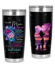 I Love You All The Times Son To Mom 20oz Tumbler front