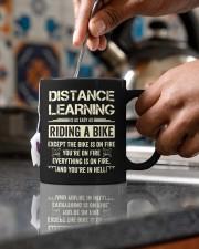Distance Learning Is As Easy As Riding A Bike Mug ceramic-mug-lifestyle-60
