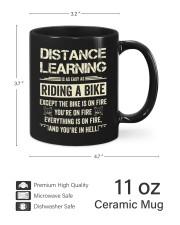 Distance Learning Is As Easy As Riding A Bike Mug ceramic-mug-lifestyle-62