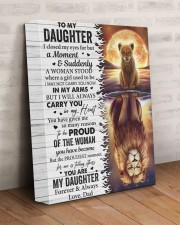 I Closed My Eyes For But A Moment Dad To Daughter 11x14 Gallery Wrapped Canvas Prints aos-canvas-pgw-11x14-lifestyle-front-07