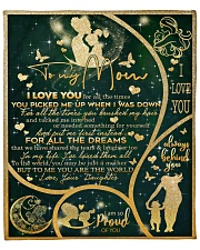"""I Love You For All The Times Daughter To Mom Fleece Blanket - 50"""" x 60"""" front"""