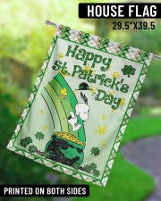 """Happy Patrick's Day 3 29.5""""x39.5"""" House Flag aos-house-flag-29-5-x-39-5-ghosted-lifestyle-13"""