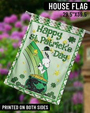 """Happy Patrick's Day 3 29.5""""x39.5"""" House Flag aos-house-flag-29-5-x-39-5-ghosted-lifestyle-14"""