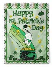 """Happy Patrick's Day 3 29.5""""x39.5"""" House Flag front"""