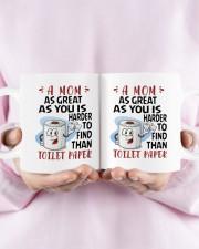A Mom As Great As You Daughter To Mom Mug ceramic-mug-lifestyle-30