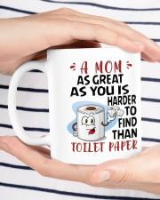 A Mom As Great As You Daughter To Mom Mug ceramic-mug-lifestyle-37