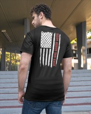 Best Bonus Dad Ever Classic T-Shirt apparel-classic-tshirt-lifestyle-back-48