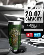 Personalized Irish Facts 20oz Tumbler aos-20oz-tumbler-lifestyle-front-38