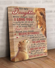 Never Forget That I Love You Lion Dad To Daughter 11x14 Gallery Wrapped Canvas Prints aos-canvas-pgw-11x14-lifestyle-front-07