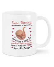I Can't Wait To Meet You Daughter To Mom Mug front