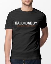 Call Of Daddy Parenting ops funny gift for father Classic T-Shirt lifestyle-mens-crewneck-front-13