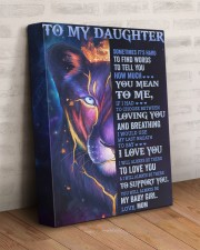 It's Hard To Find Words To Tell U Mom To Daughter 11x14 Gallery Wrapped Canvas Prints aos-canvas-pgw-11x14-lifestyle-front-07