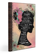 There's So MUch In My Heart Mom To Daughter 20x30 Gallery Wrapped Canvas Prints front