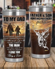 So Much Of Me Is Made From What I Learned To Dad 20oz Tumbler aos-20oz-tumbler-lifestyle-front-56
